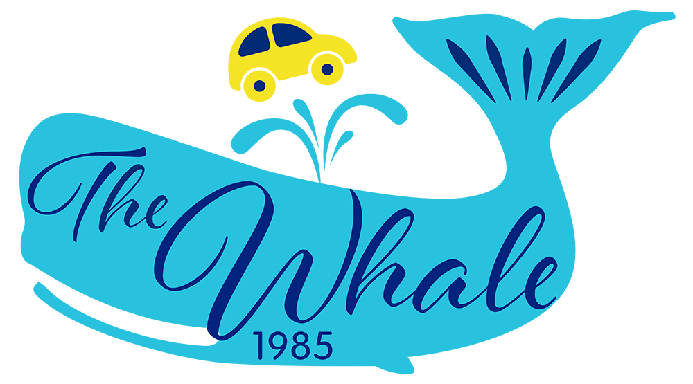 The Whale Car Wash Logo